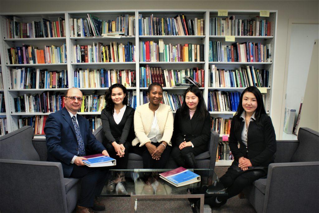 KazNu, Kazakhstan MDP Students and Professor: